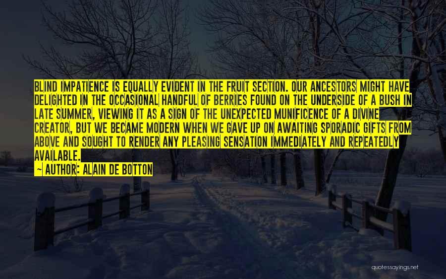 Awaiting Summer Quotes By Alain De Botton
