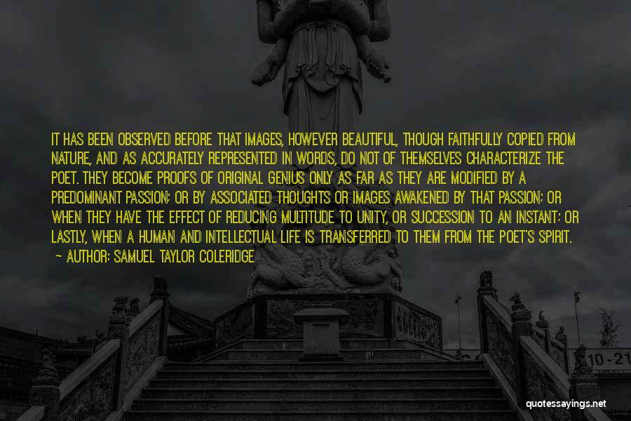 Awakened Spirit Quotes By Samuel Taylor Coleridge