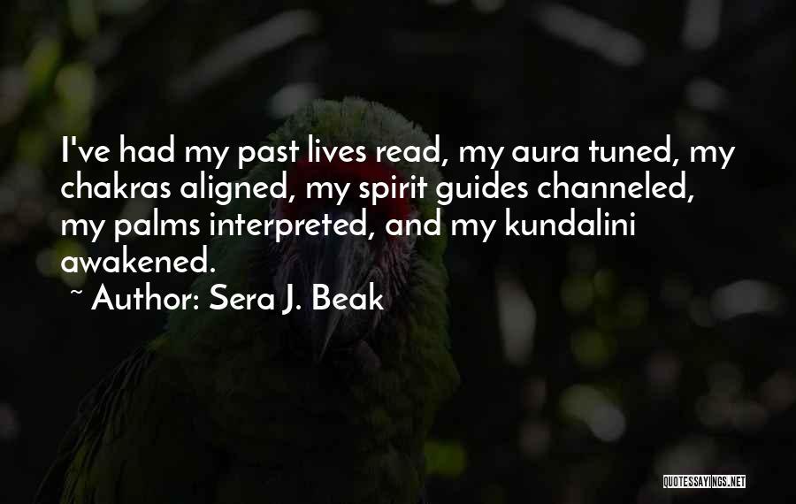 Awakened Spirit Quotes By Sera J. Beak