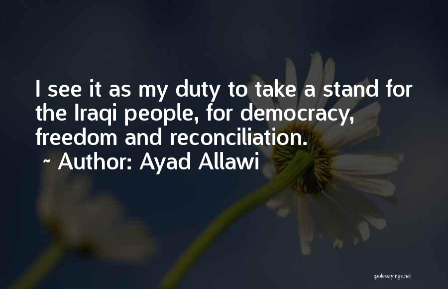 Ayad Allawi Quotes 1219686