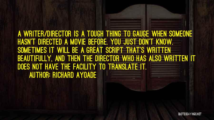 Ayoade Quotes By Richard Ayoade