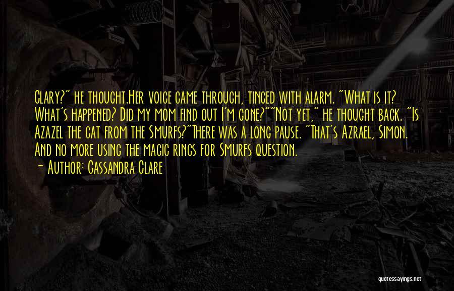 Azazel Quotes By Cassandra Clare