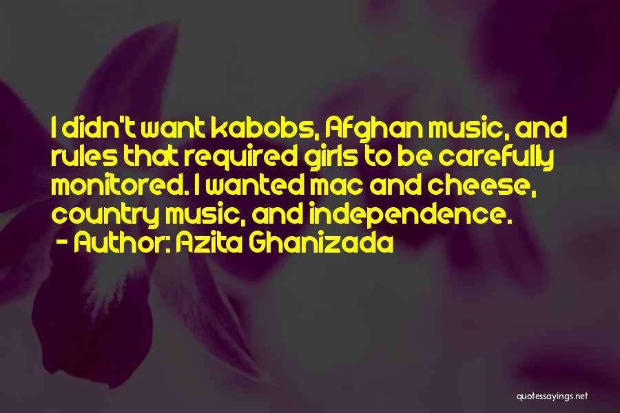 Azita Ghanizada Quotes 1256981