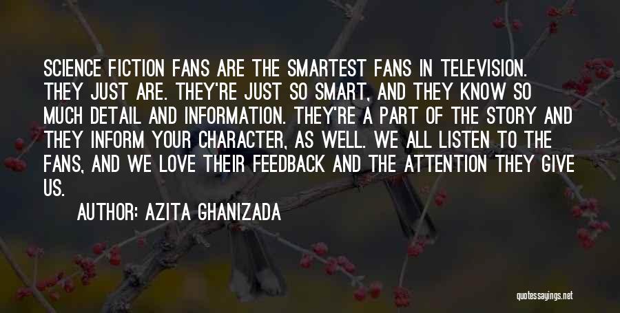 Azita Ghanizada Quotes 399158