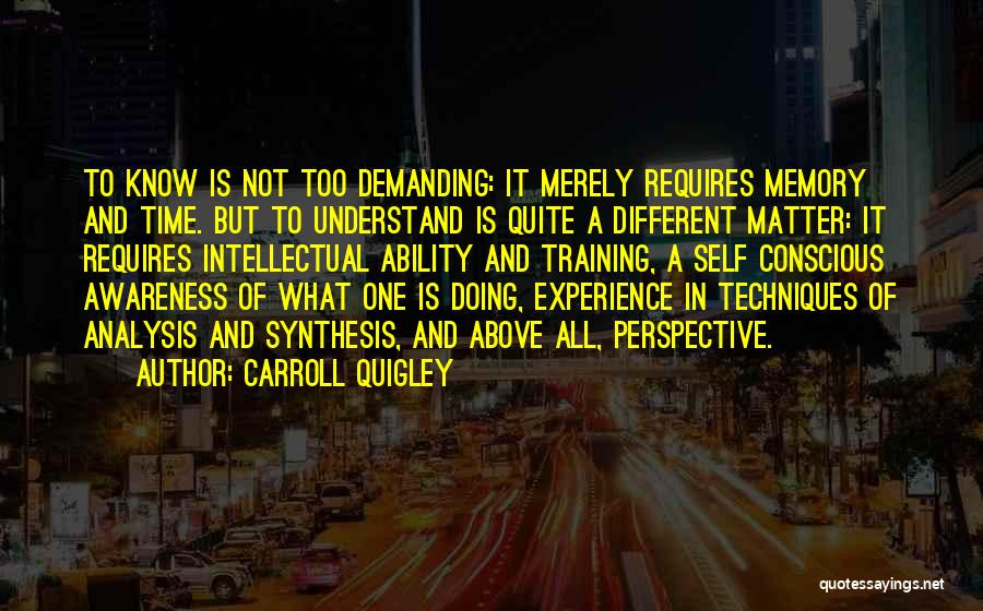 B H Carroll Quotes By Carroll Quigley