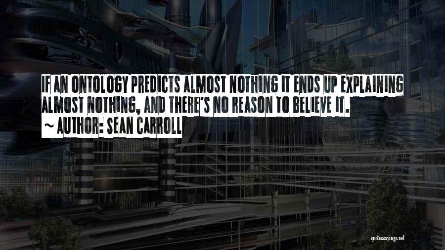 B H Carroll Quotes By Sean Carroll