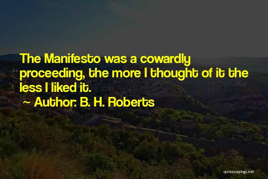 B. H. Roberts Quotes 620311