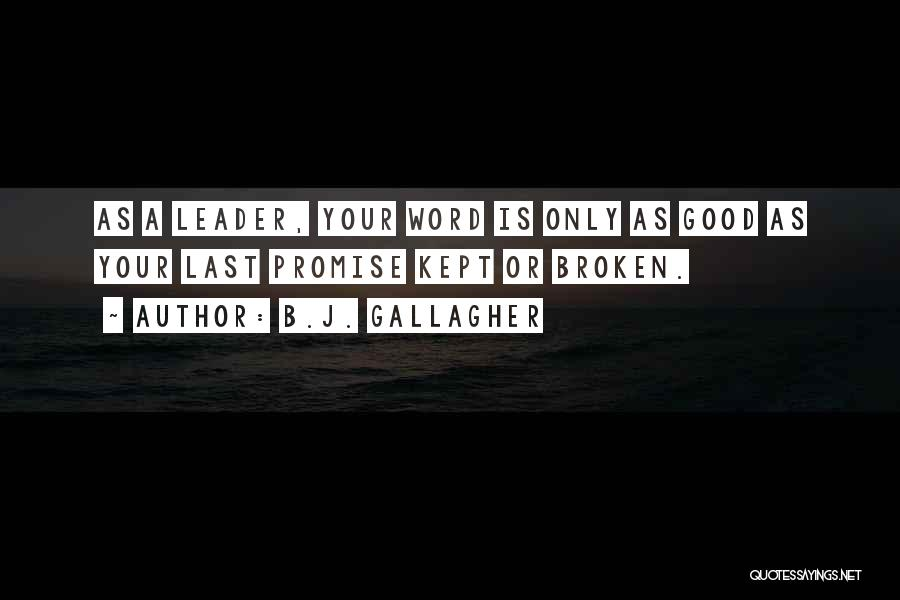 B.J. Gallagher Quotes 946836