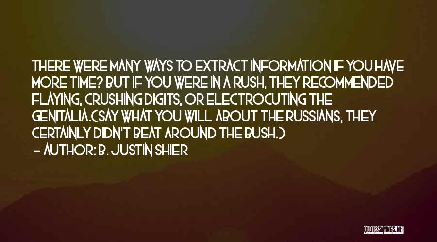 B. Justin Shier Quotes 1516206