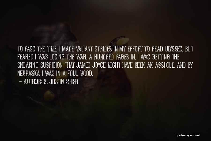 B. Justin Shier Quotes 454026