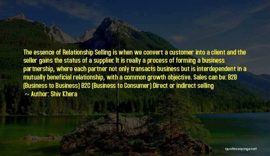 B2b Quotes By Shiv Khera