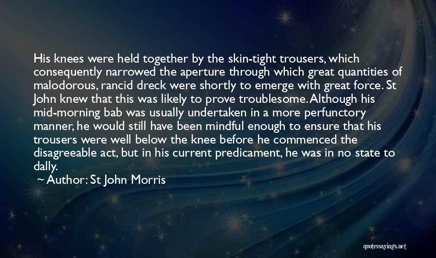 Bab 5 Quotes By St John Morris