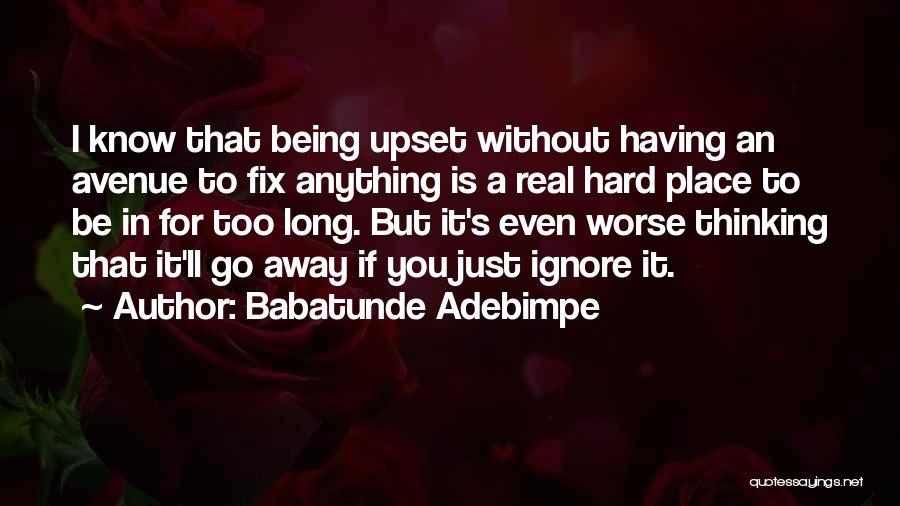 Babatunde Adebimpe Quotes 1291986