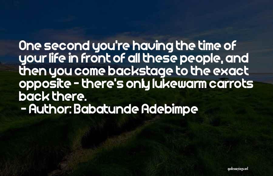 Babatunde Adebimpe Quotes 1714554