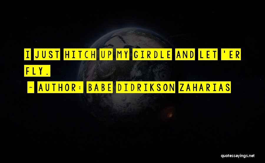 Babe Didrikson Zaharias Quotes 1135492