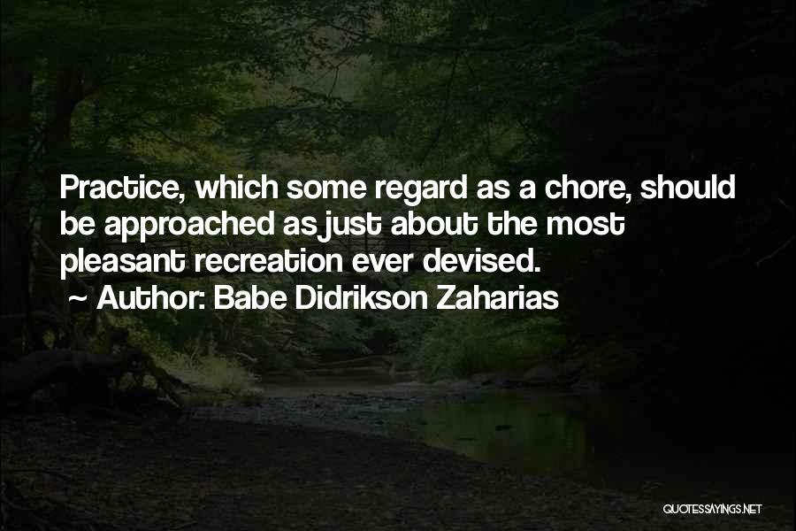 Babe Didrikson Zaharias Quotes 1184033