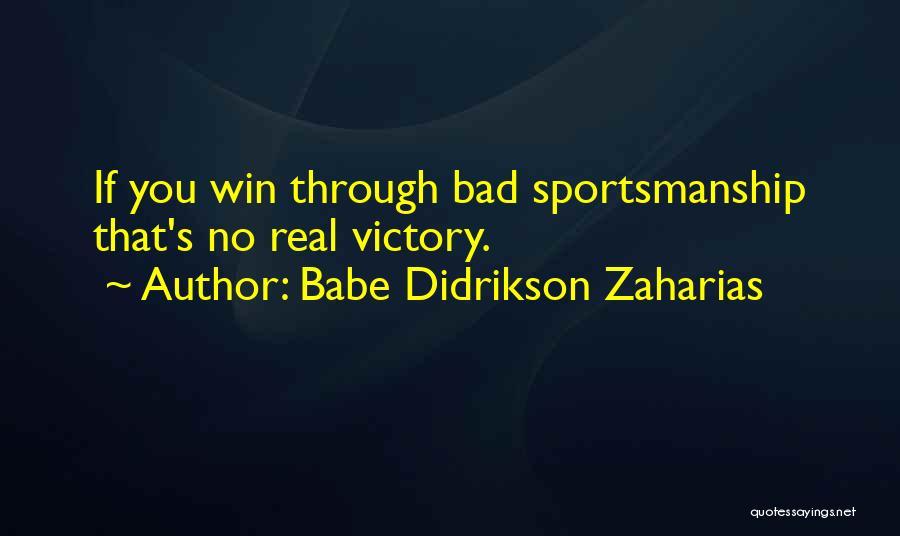 Babe Didrikson Zaharias Quotes 1758552