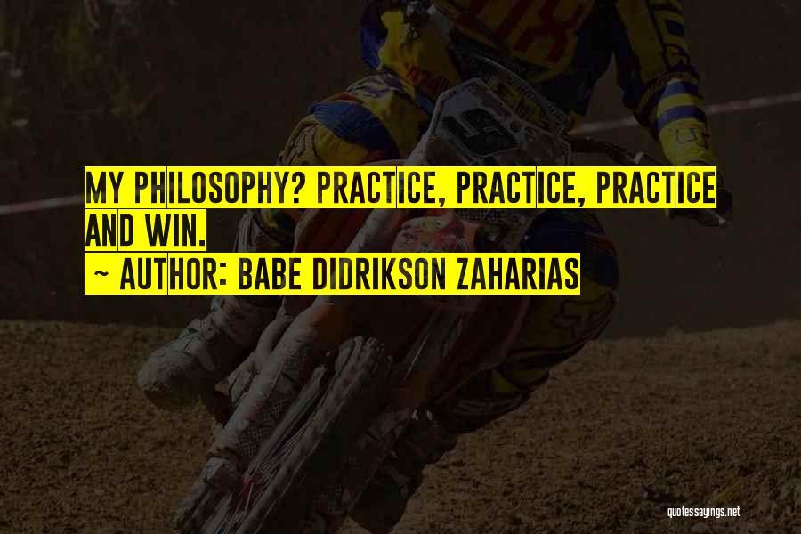 Babe Didrikson Zaharias Quotes 1918096