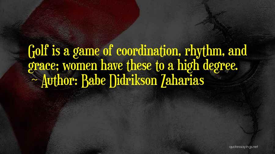 Babe Didrikson Zaharias Quotes 2248452