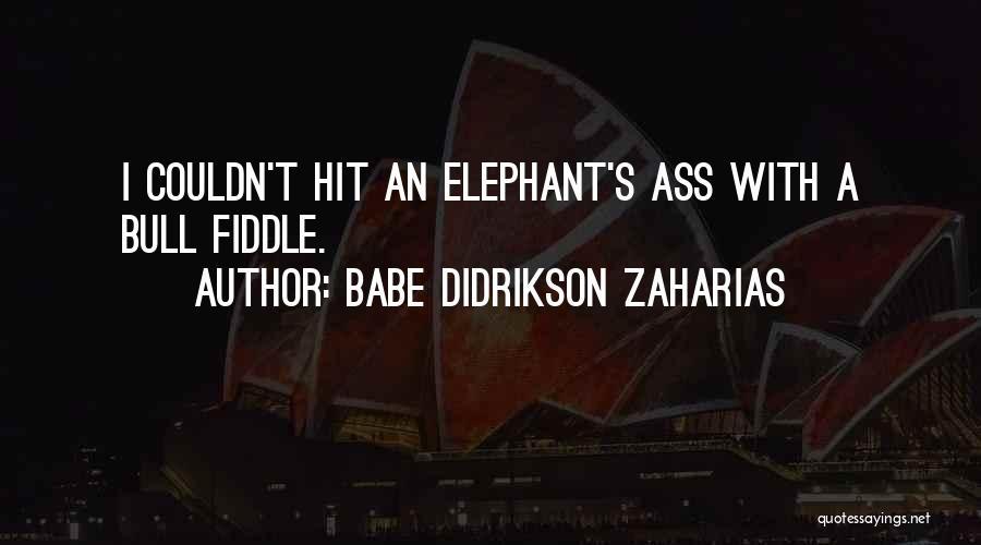Babe Didrikson Zaharias Quotes 276893