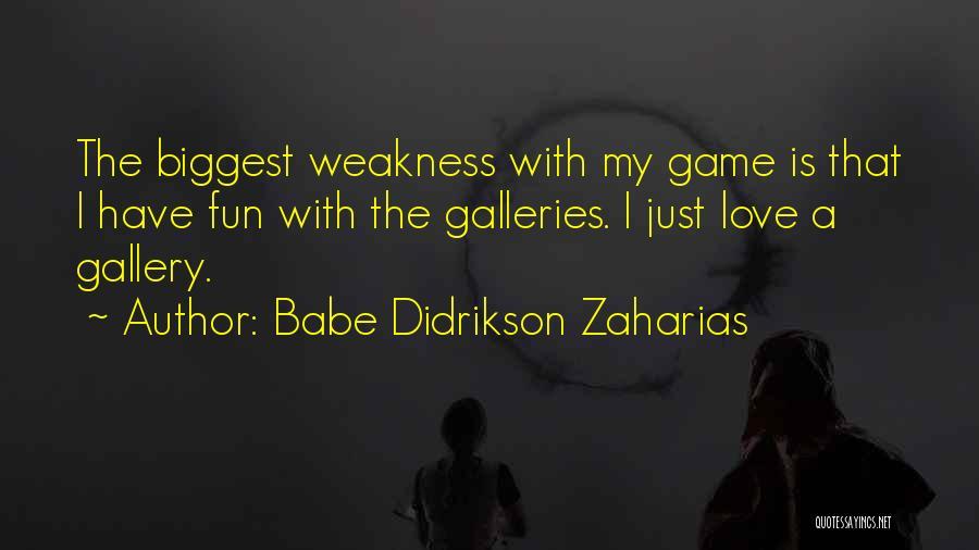 Babe Didrikson Zaharias Quotes 488606