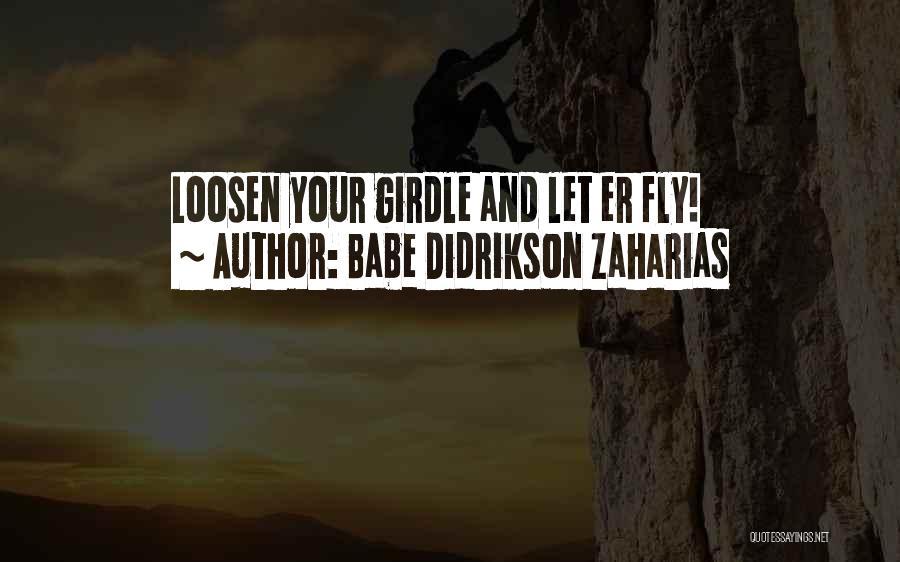Babe Didrikson Zaharias Quotes 513269