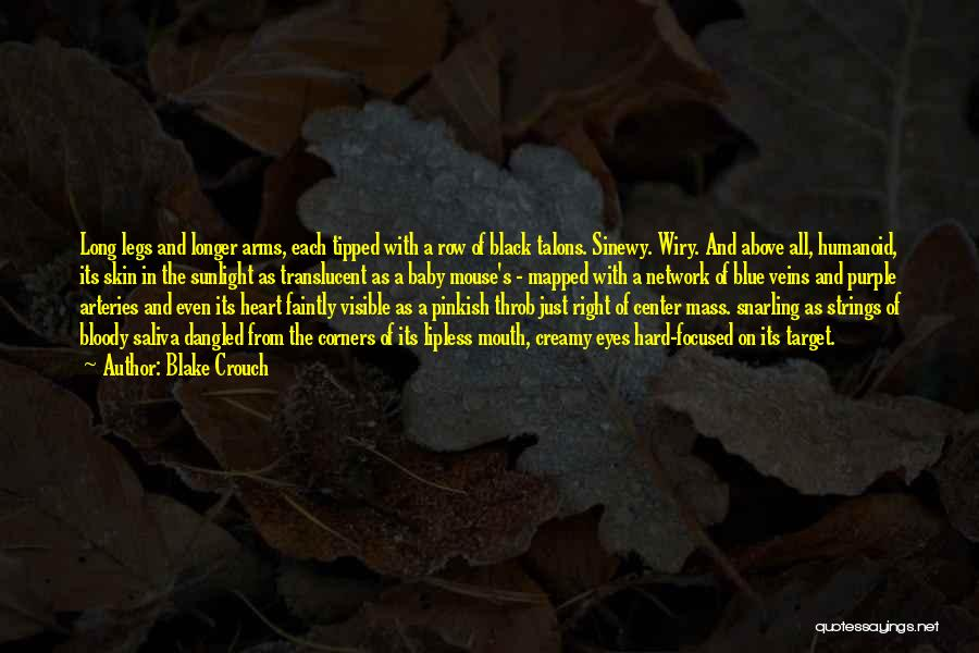Baby Blue Eyes Quotes By Blake Crouch