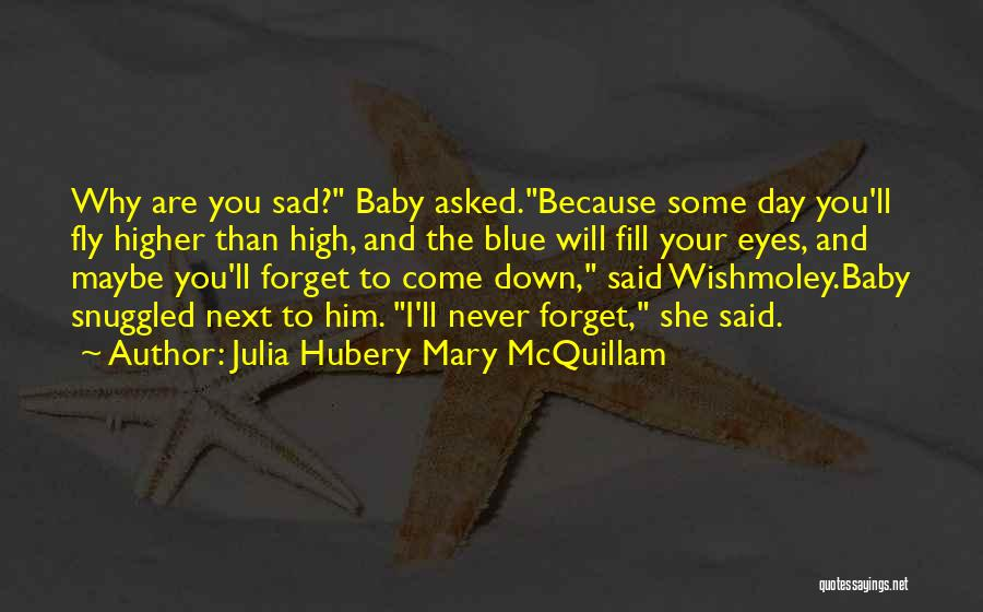 Baby Blue Eyes Quotes By Julia Hubery Mary McQuillam