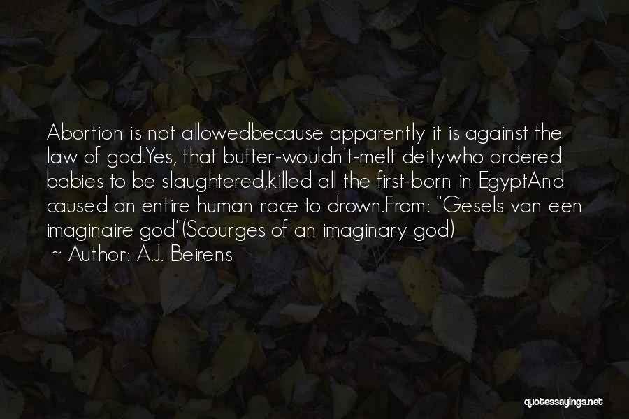 Baby Killed Quotes By A.J. Beirens