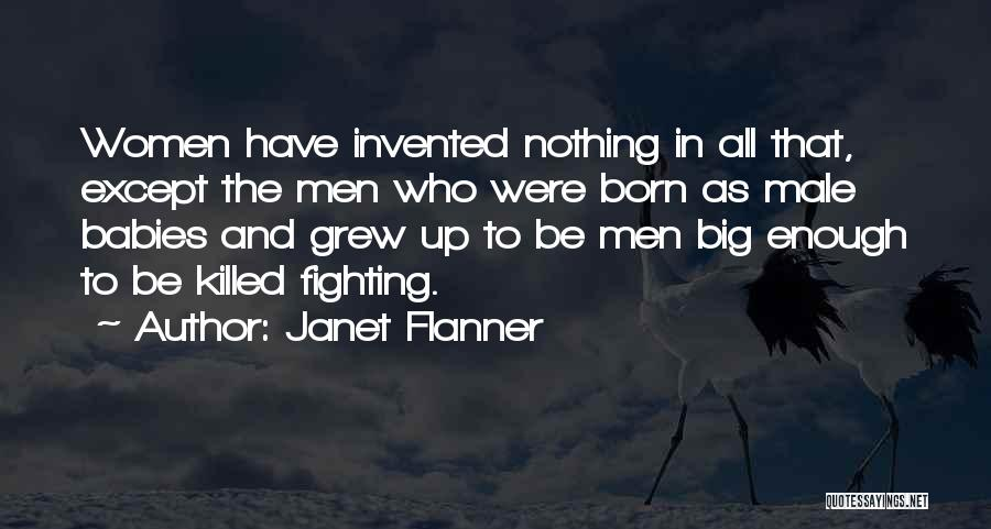 Baby Killed Quotes By Janet Flanner