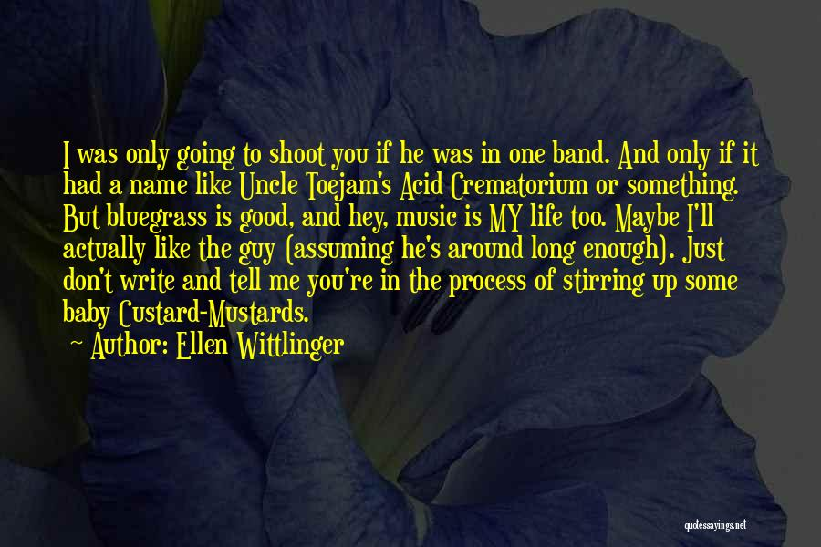 Baby You're The Only One Quotes By Ellen Wittlinger