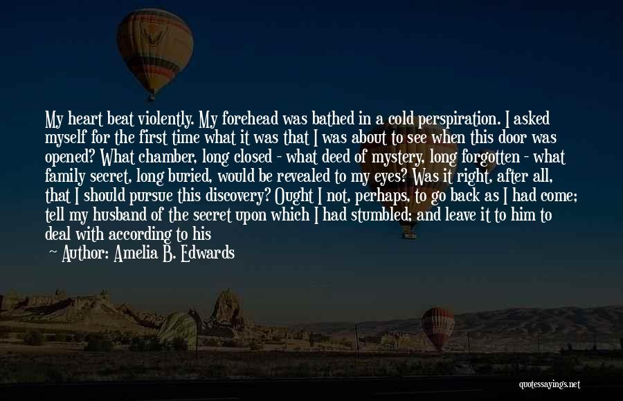 Back After A Long Time Quotes By Amelia B. Edwards