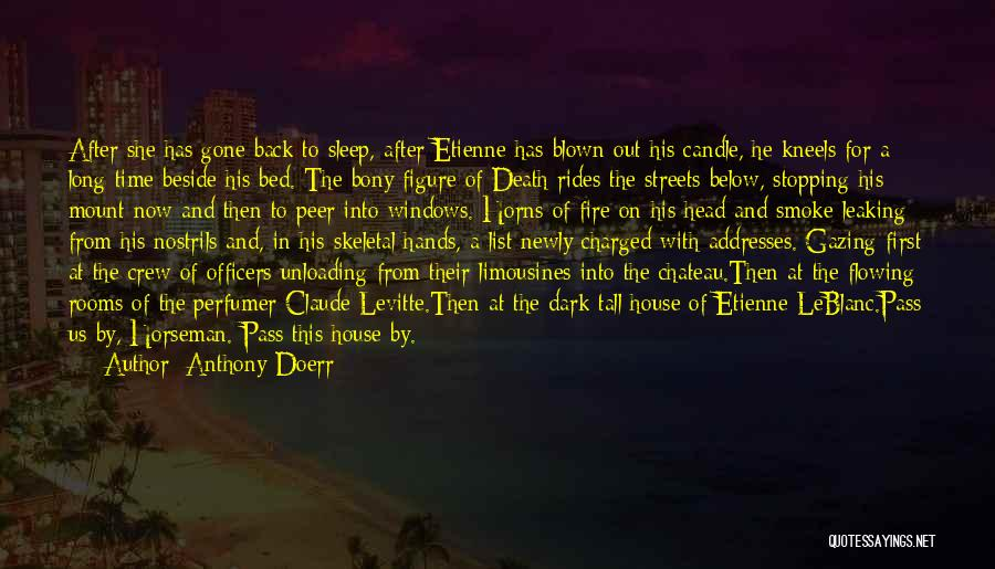 Back After A Long Time Quotes By Anthony Doerr