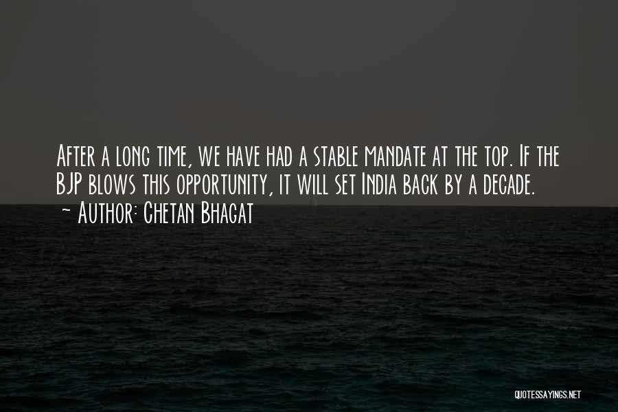 Back After A Long Time Quotes By Chetan Bhagat