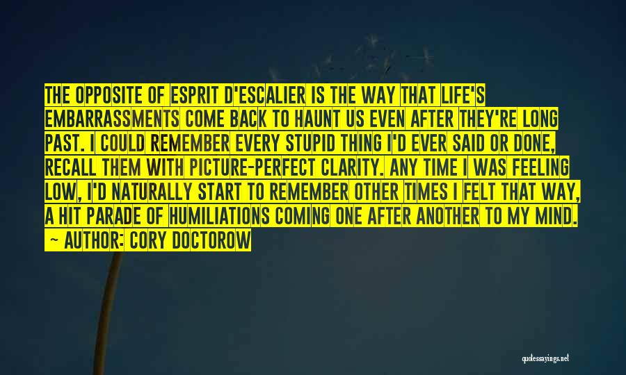 Back After A Long Time Quotes By Cory Doctorow