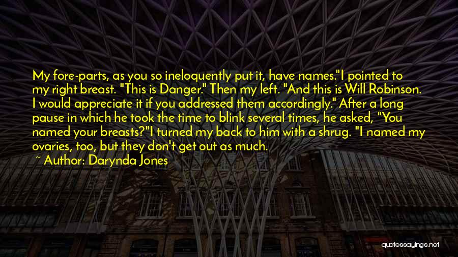 Back After A Long Time Quotes By Darynda Jones