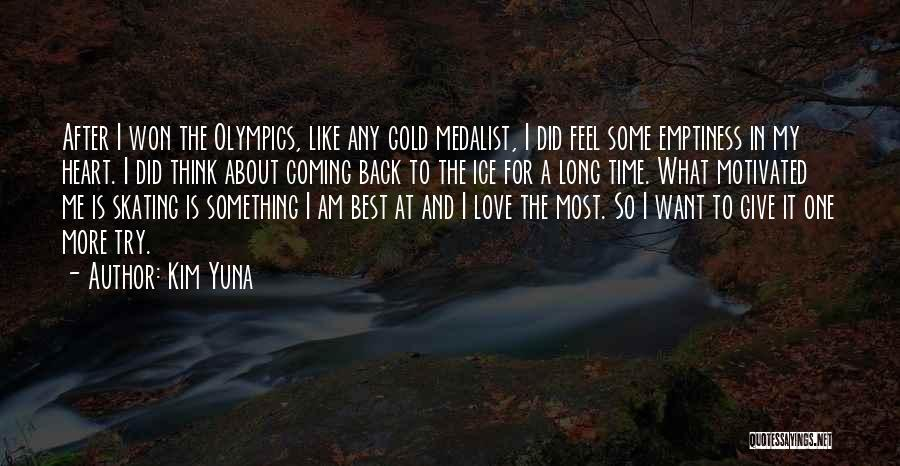 Back After A Long Time Quotes By Kim Yuna