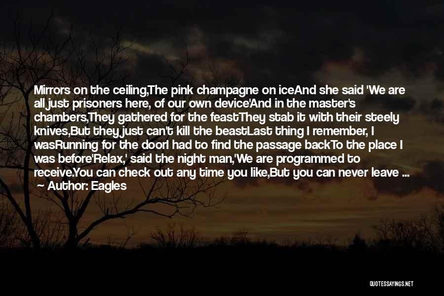 Back Stab Quotes By Eagles