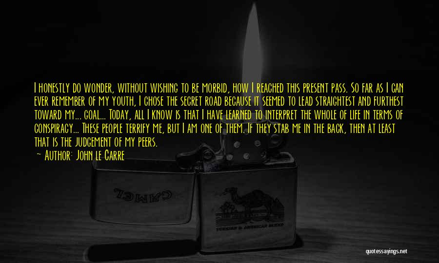 Back Stab Quotes By John Le Carre