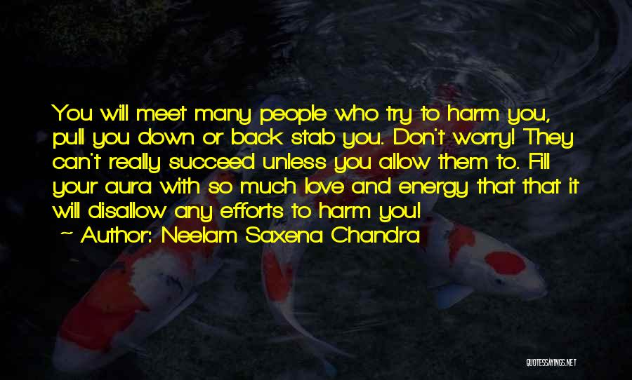 Back Stab Quotes By Neelam Saxena Chandra