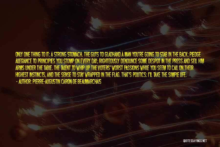 Back Stab Quotes By Pierre-Augustin Caron De Beaumarchais