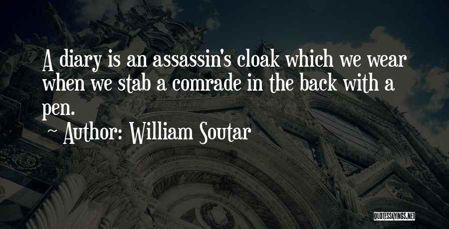 Back Stab Quotes By William Soutar