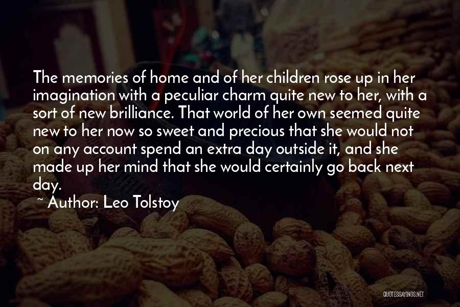 Back To Sweet Home Quotes By Leo Tolstoy