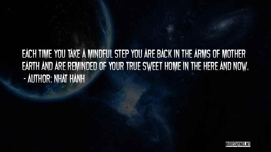 Back To Sweet Home Quotes By Nhat Hanh