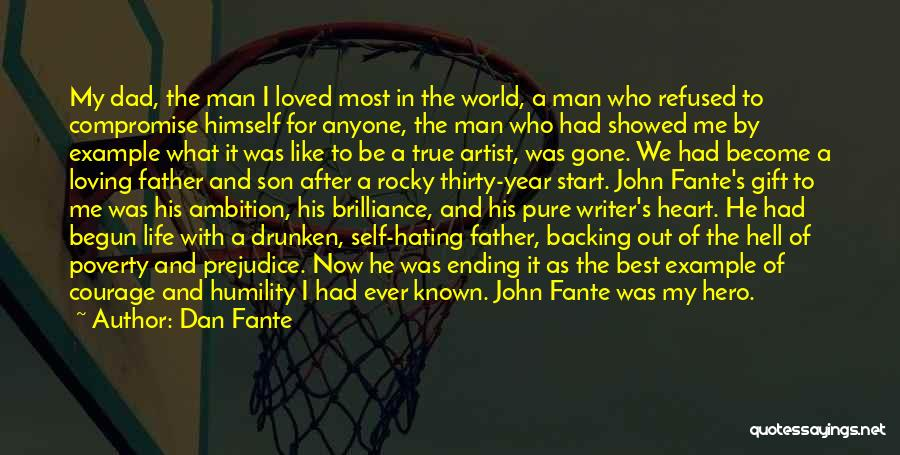 Backing Yourself Quotes By Dan Fante