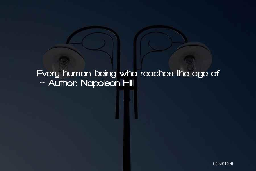Backing Yourself Quotes By Napoleon Hill