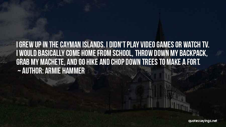 Backpack Quotes By Armie Hammer