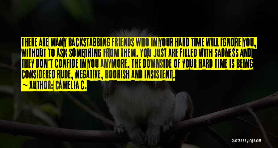 Top 3 Quotes & Sayings About Backstabbing Best Friends