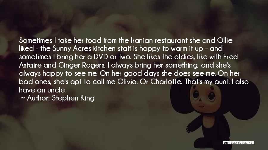 Bad Aunt Quotes By Stephen King