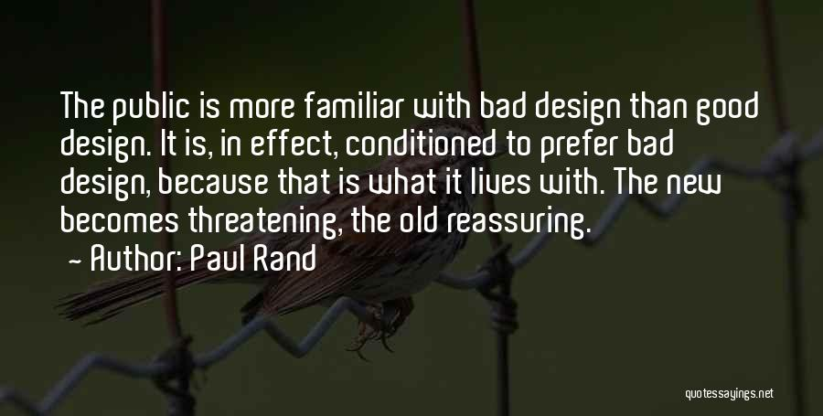 Bad Effect Of Technology Quotes By Paul Rand